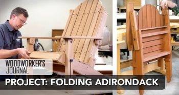 Build a Folding Adirondack Chair