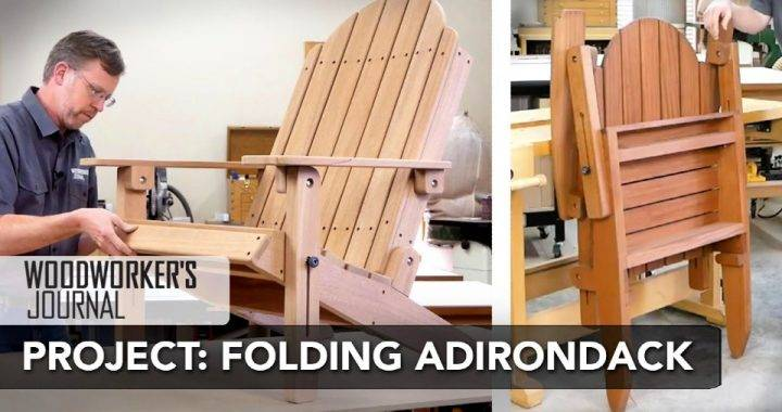 Build a Folding Adirondack Chair
