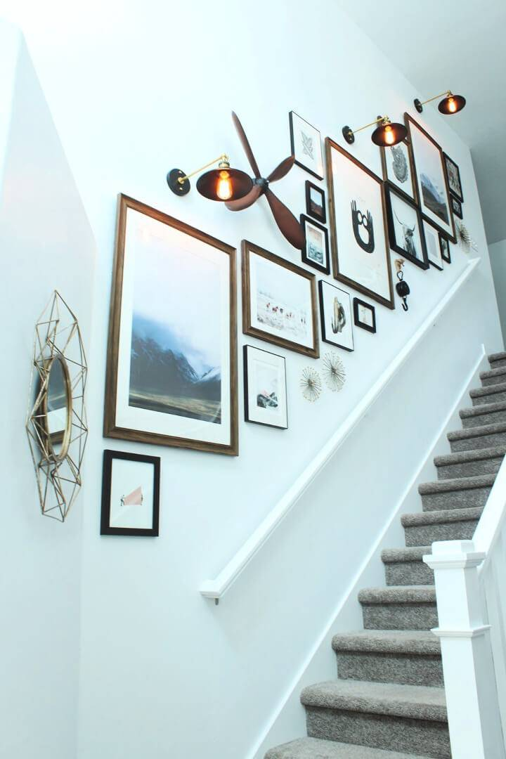 Build a Stunning Staircase Photo Wall