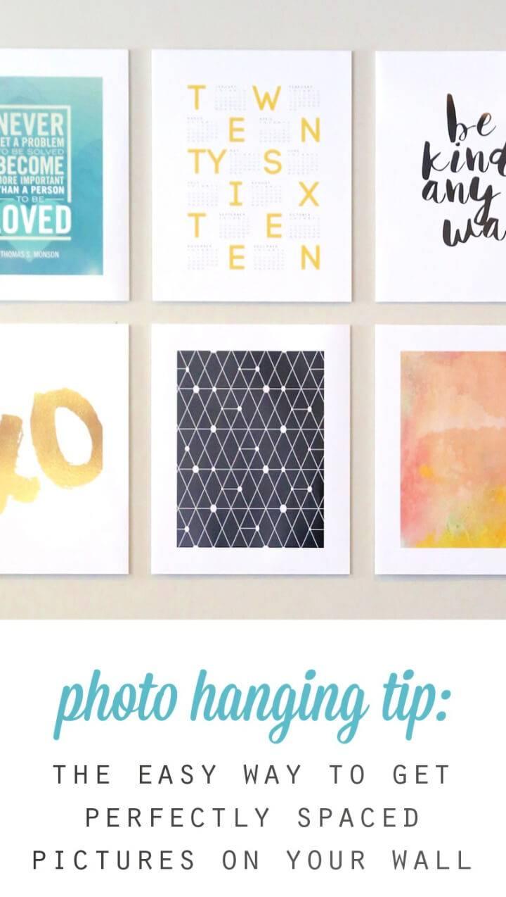 Cheap Easy DIY Gallery Wall