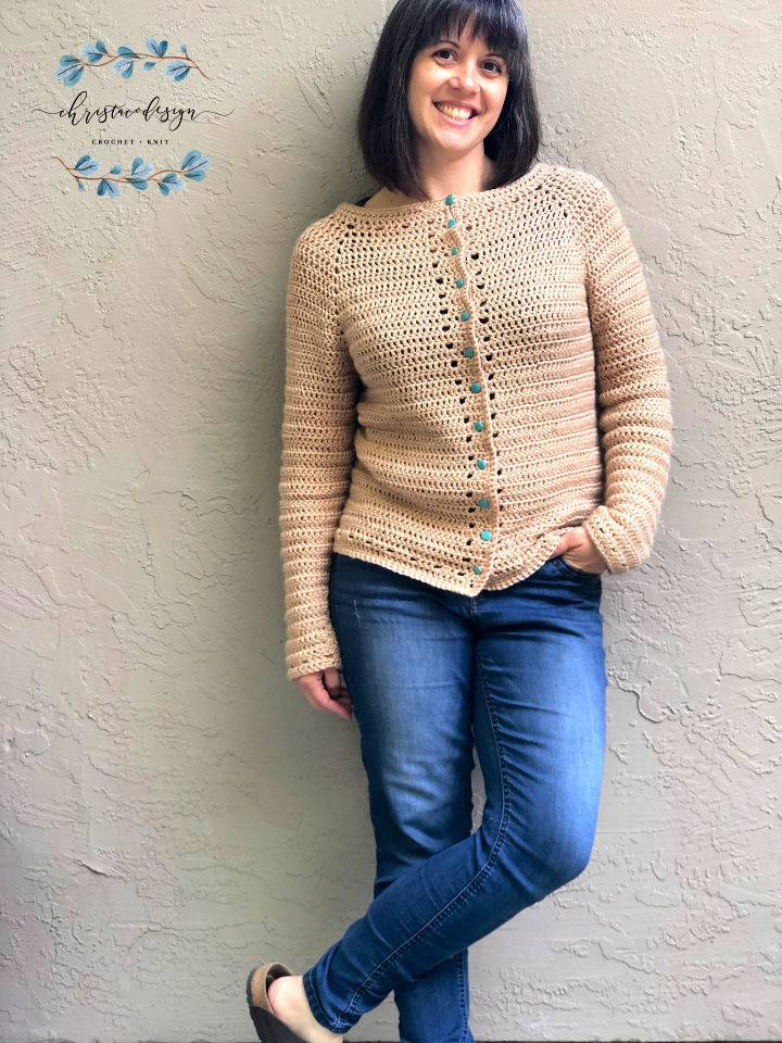 Crochet Cardigan for Spring