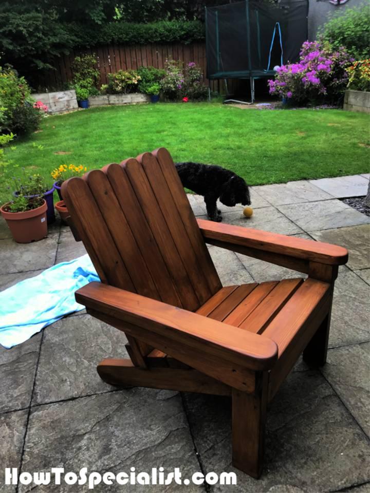 DIY 2×4 Adirondack Chair