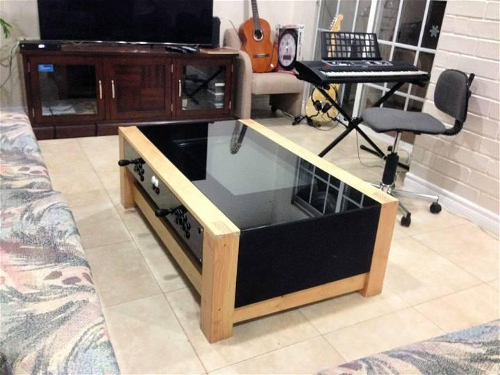 DIY Arcade Coffee Table