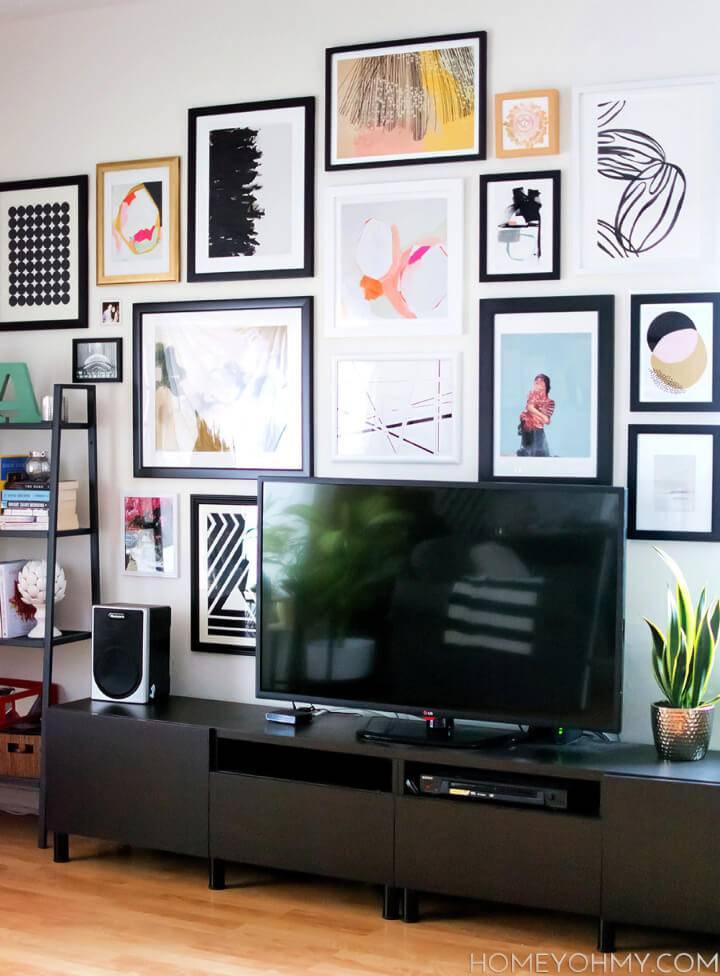 DIY Art Gallery Wall
