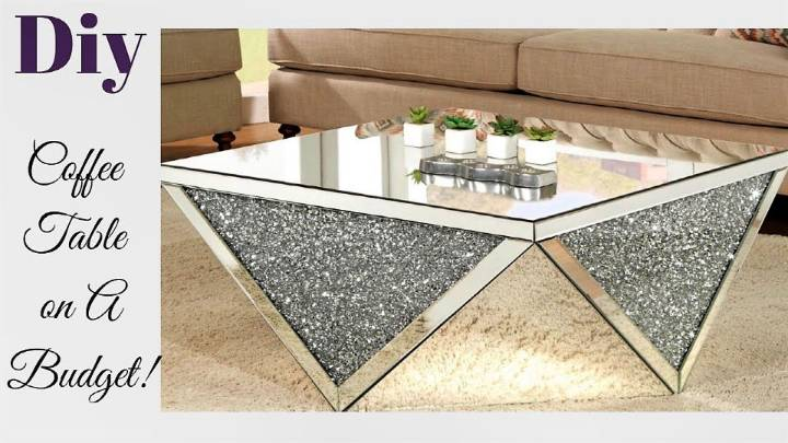 DIY Living Room Coffee Table