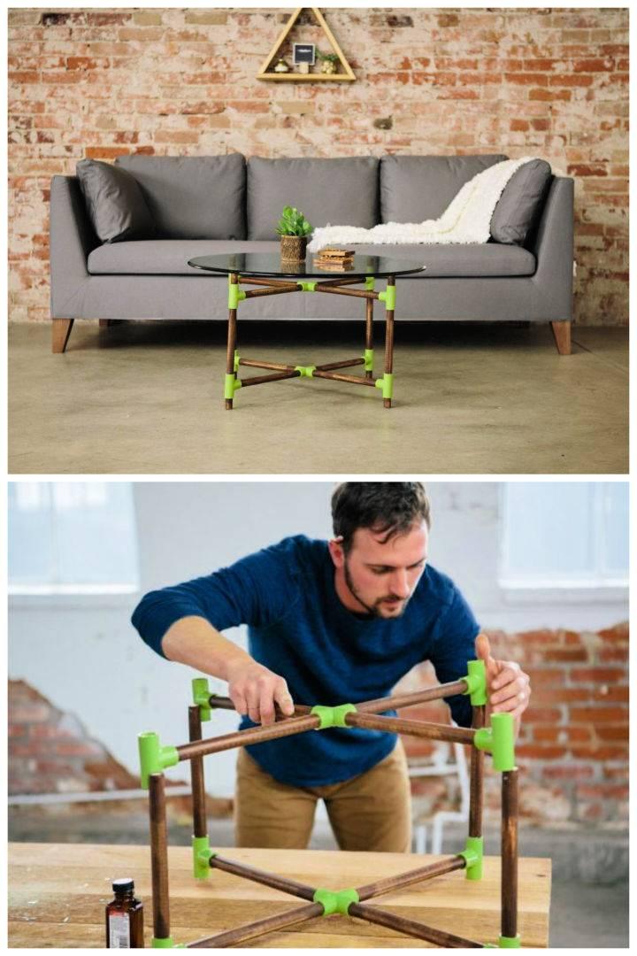 DIY PVC Pipe Coffee Table