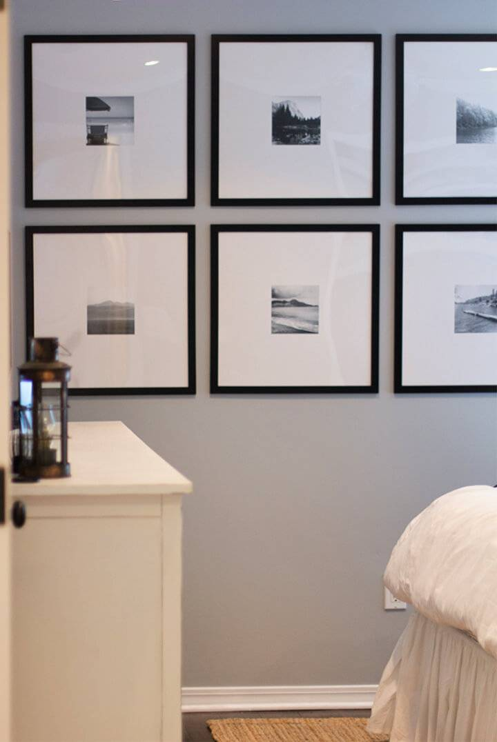 Easy DIY Photo Wall
