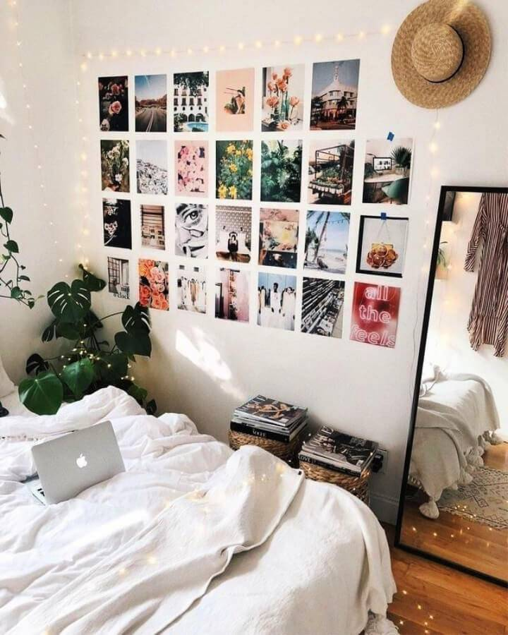 Gallery Wall for Tumblr Dorm
