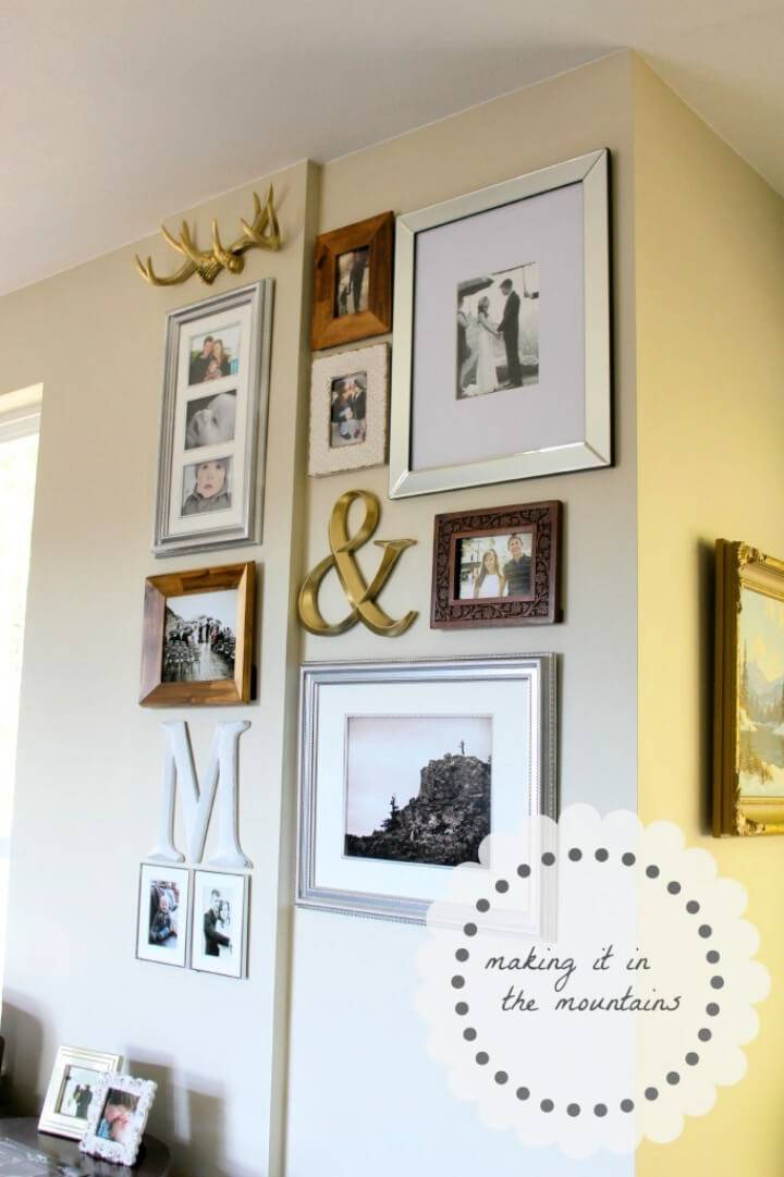 Gallery Wall from The Pile Of Frames