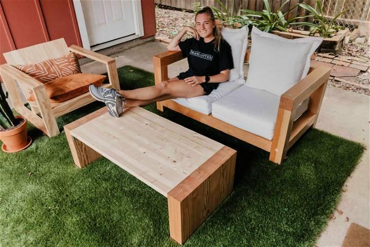 Handmade Outdoor Coffee Table