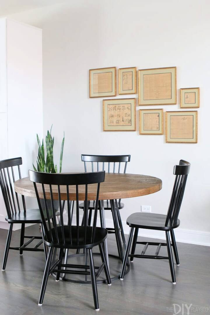 How to Create a Gallery Wall for Dinning Room