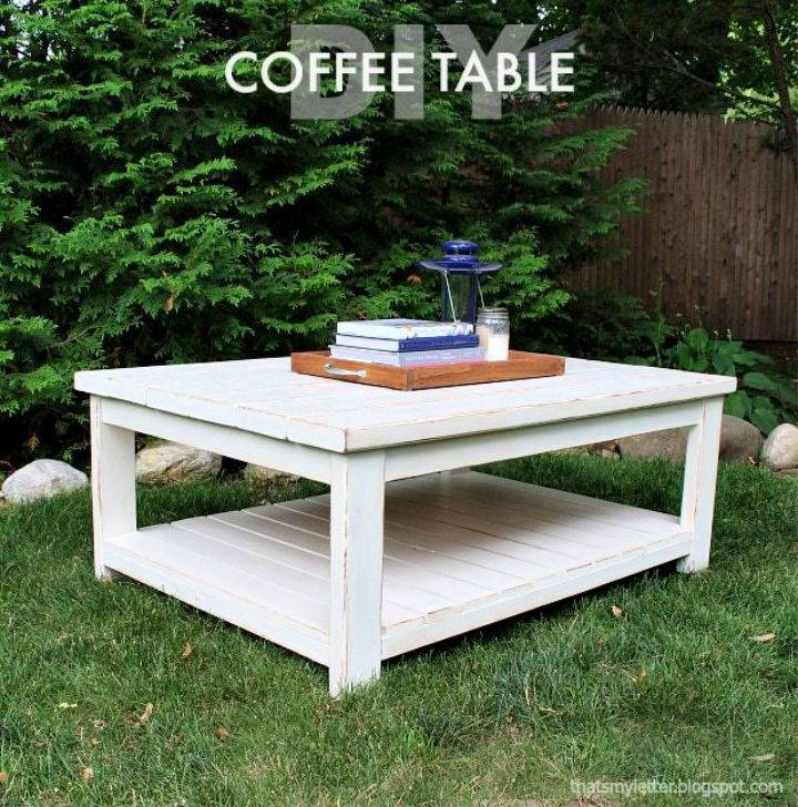 How to Make Habitat Coffee Table