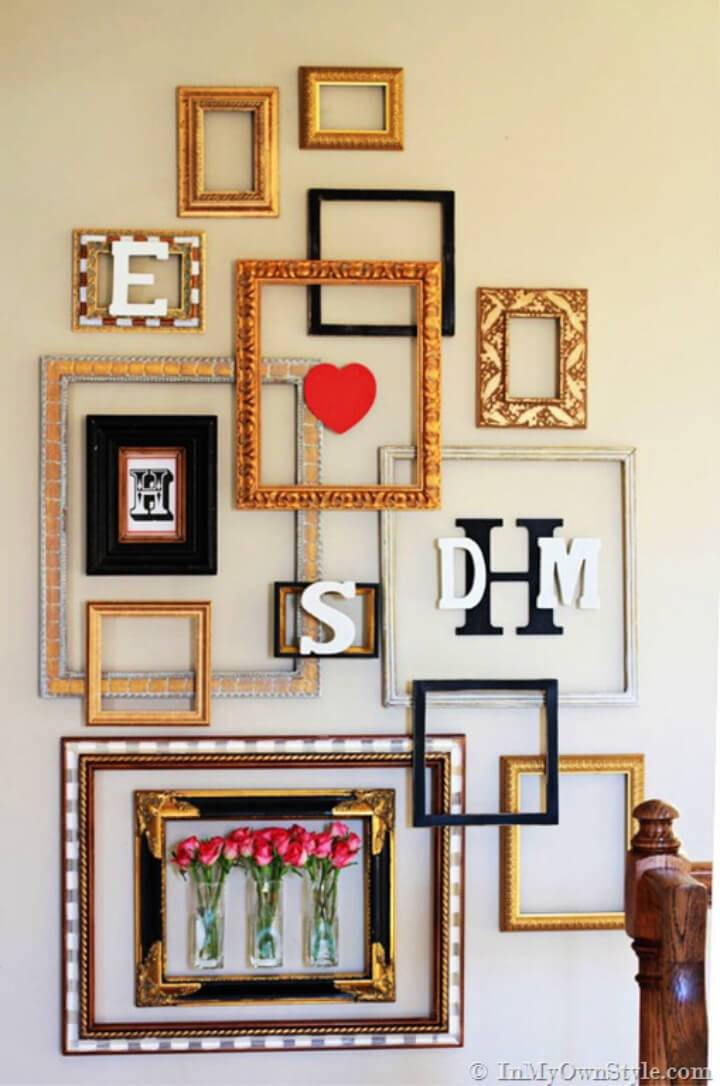 How to Make Picture Frame Gallery Wall