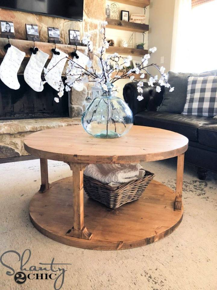 Round Coffee Table on Budget