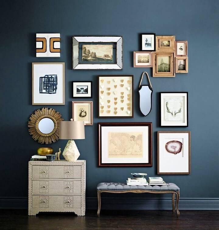 Stunning Living Room Wall Gallery