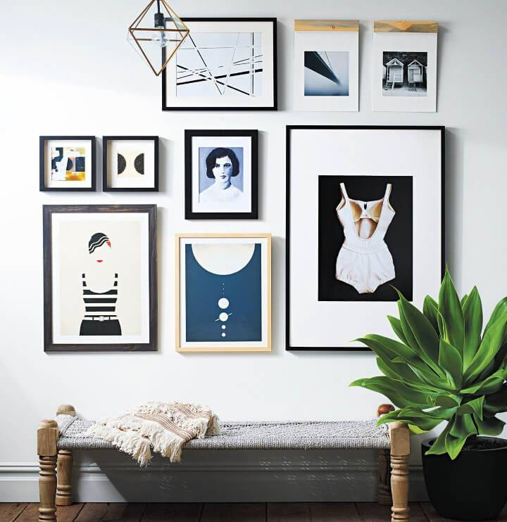 Wall Gallery to Display Artwork