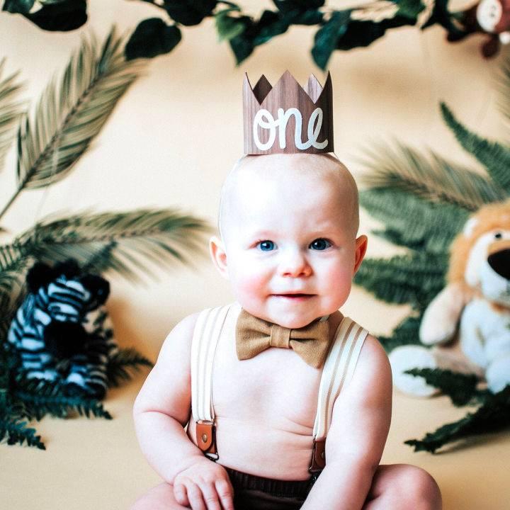 1st Birthday Crown Boy Birthday Hat