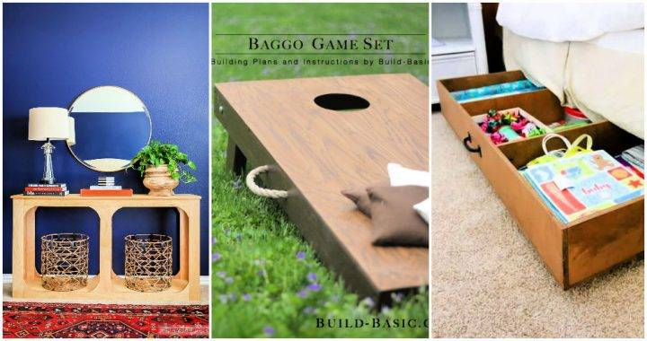 25 DIY Plywood Projects out of One Sheet