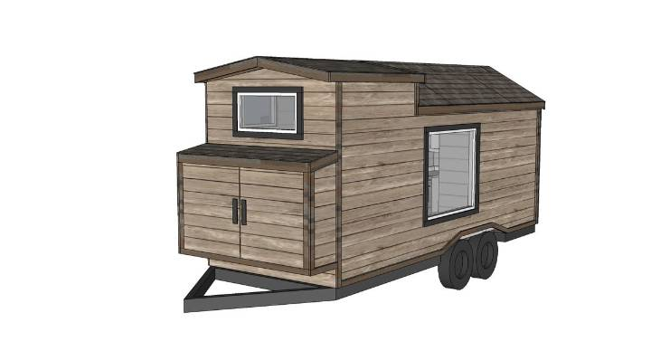 Ana White Tiny House Plan