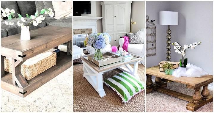 Ana White coffee table