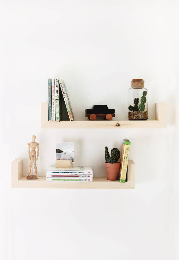 Build Wood Wall Shelves to Sell