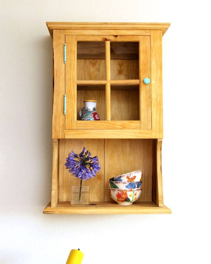 Build a Farmhouse Wall Cabinet