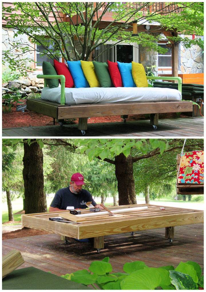 Build a Pallet Daybed to Sell