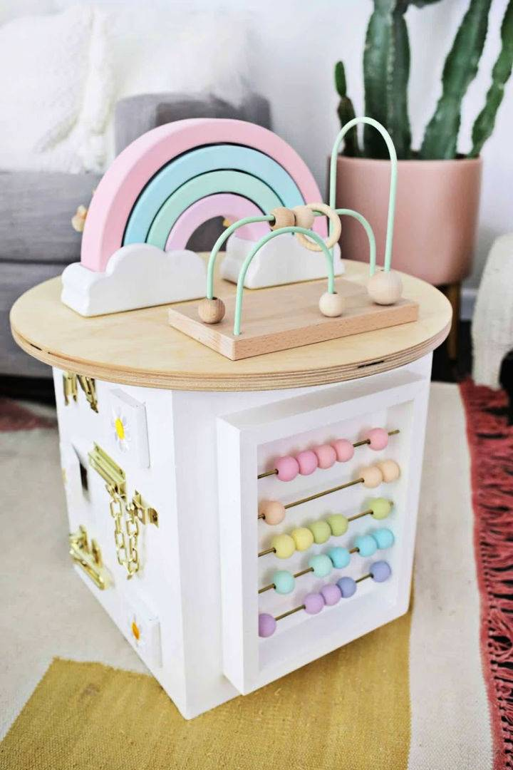 Build a Wooden Toddler Activity Center