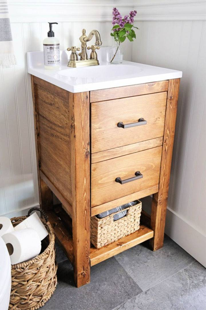 DIY 65 Bathroom Vanity to Sell