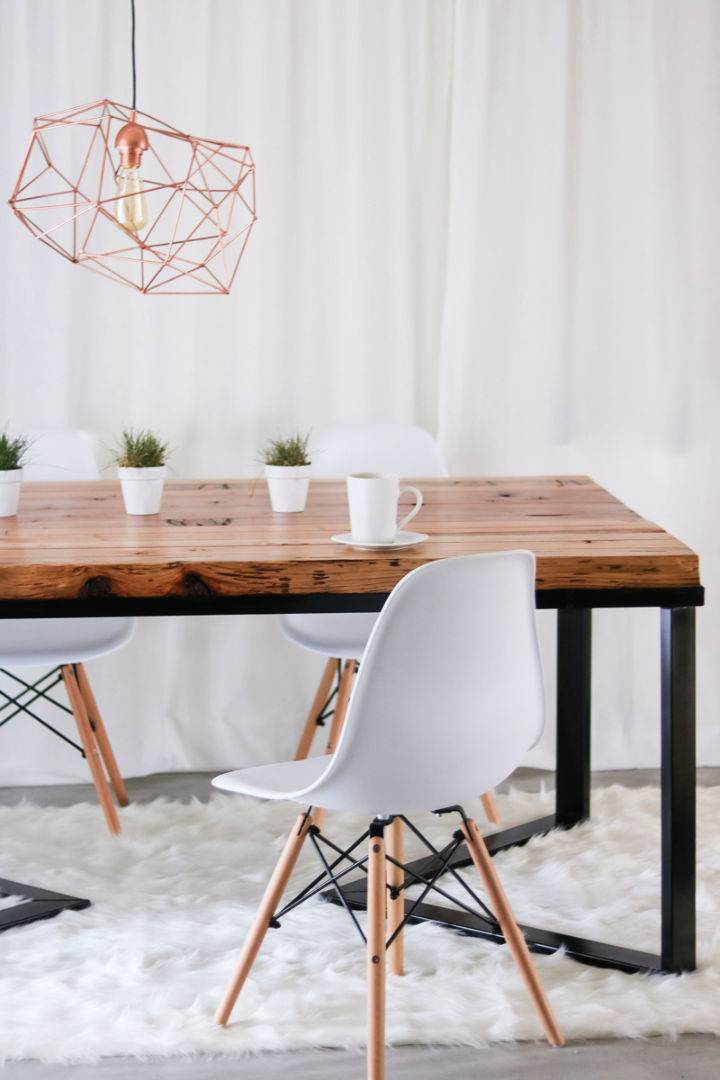 DIY Dining Table Under 60