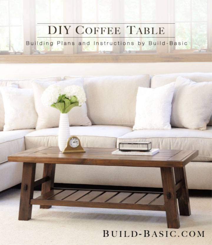 DIY Splayed Leg Coffee Table
