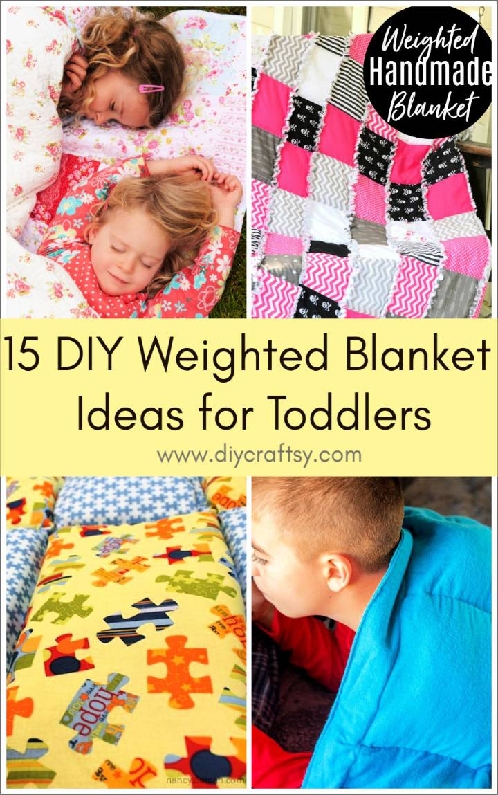 DIY Weighted Blanket Ideas for Toddlers