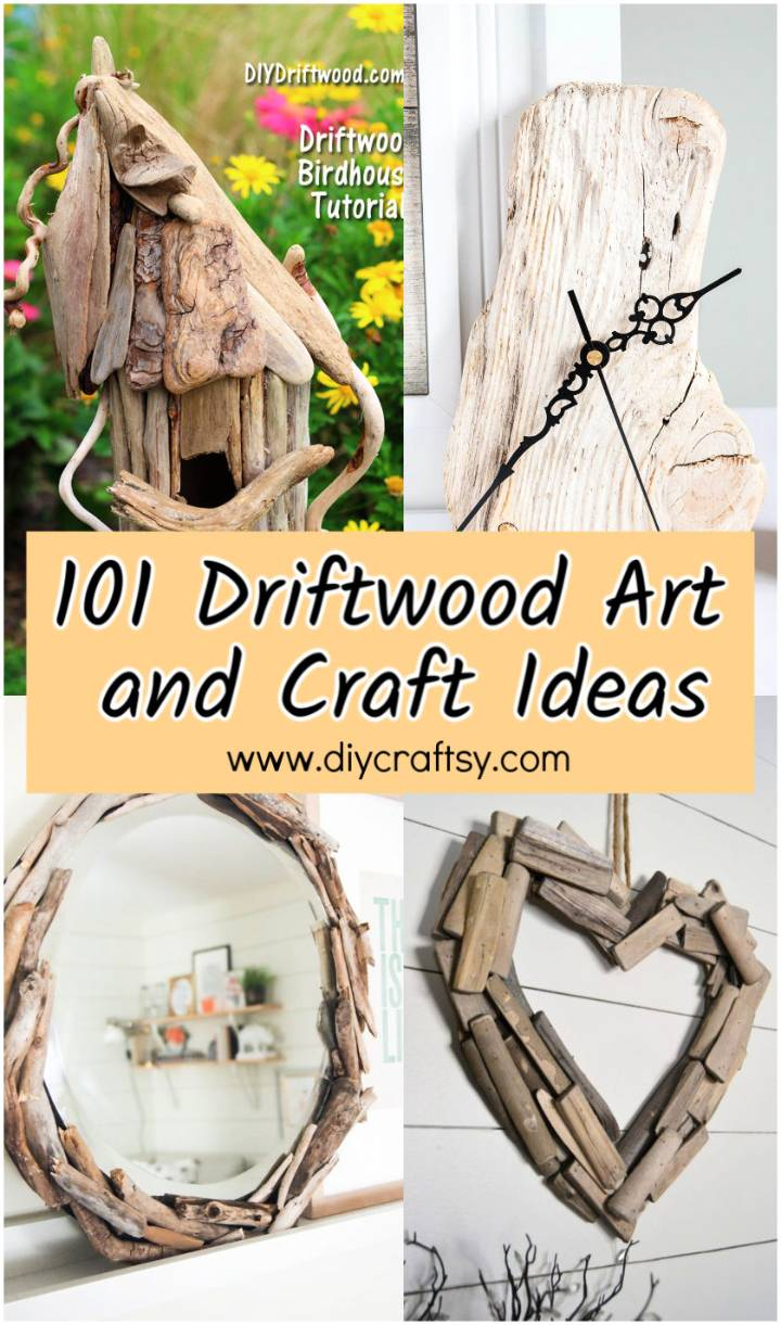 Driftwood Art and Craft Ideas for Home Decor