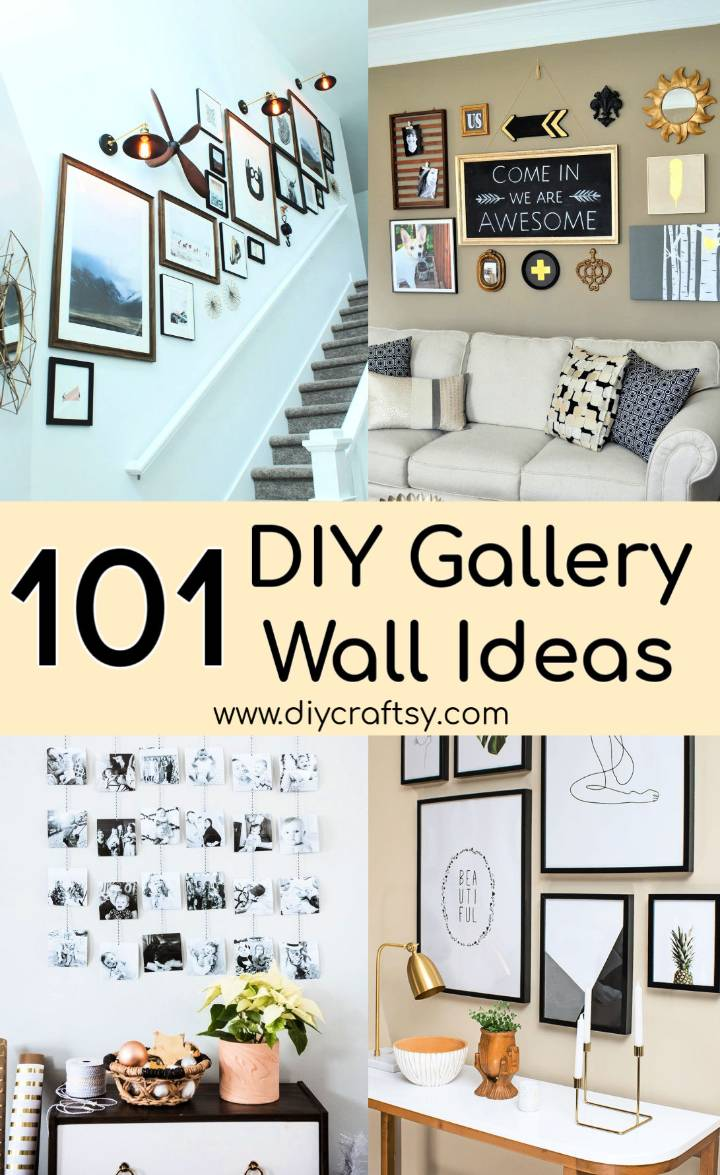 Easy Gallery Wall Ideas To Make At Home