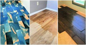 Easy and Cheap DIY Plywood Flooring Ideas