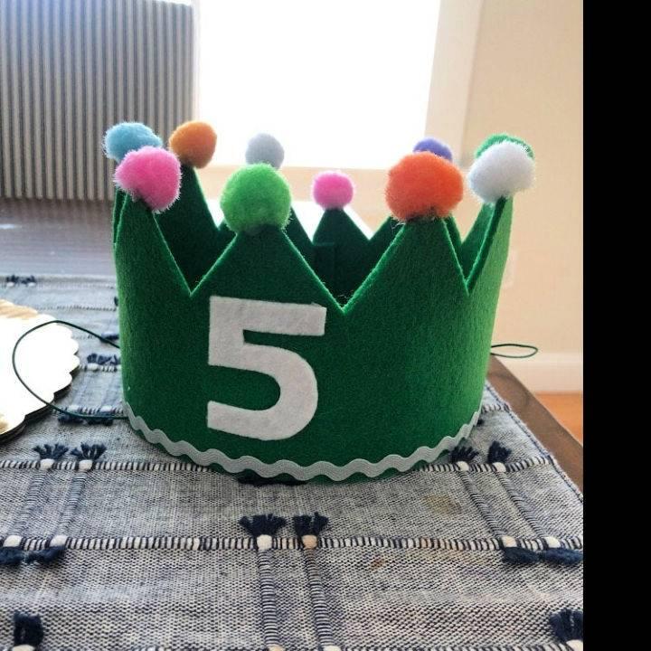 Felt Birthday Hat