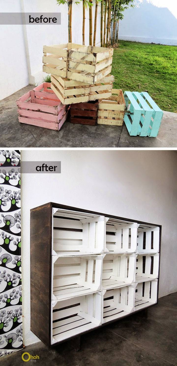 How to Make Crates Storage