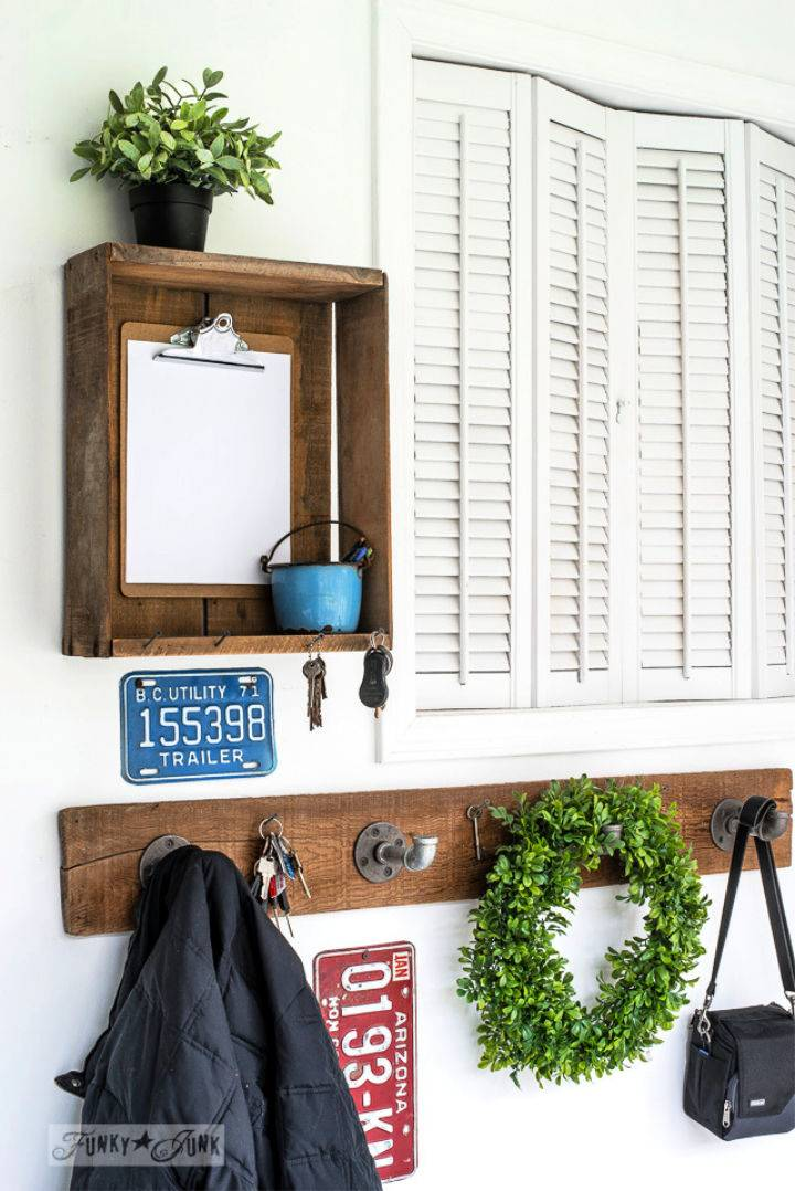 Industrial Farmhouse Pipe Coat Hooks