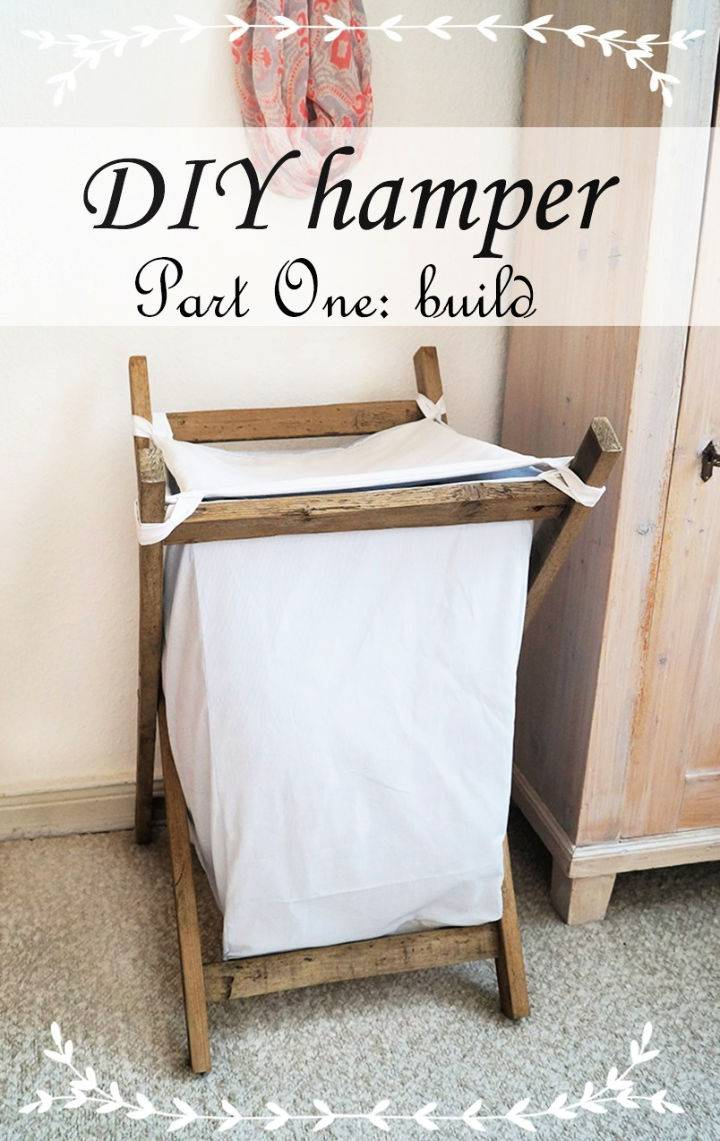 Laundry Basket to Build and Sell