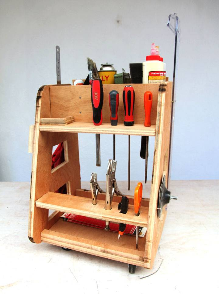 Make a Wooden Tool Caddy to Sell