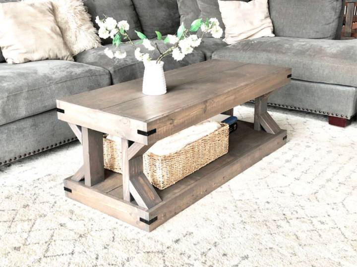 Modern Farmhouse Coffee Table 1 1