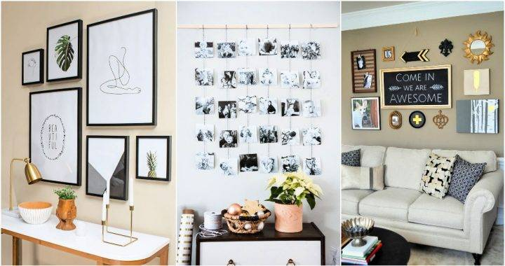 Pretty Easy Gallery Wall Ideas To Make At Home