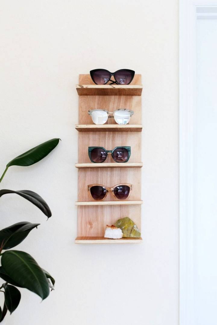 Sunglasses Holder for End Of Summer Storage