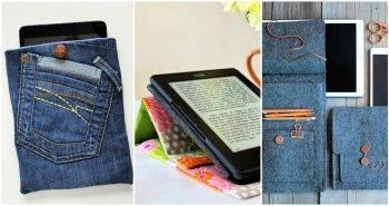 Unique DIY Tablet Case and IPad Cover Ideas