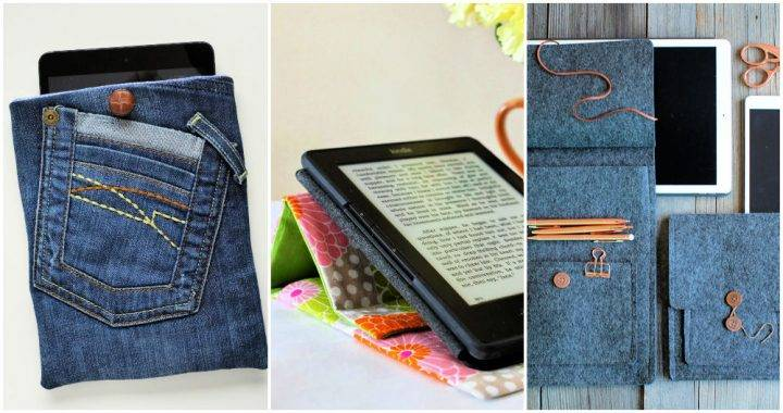 Unique DIY Tablet Case and IPad Cover Ideas