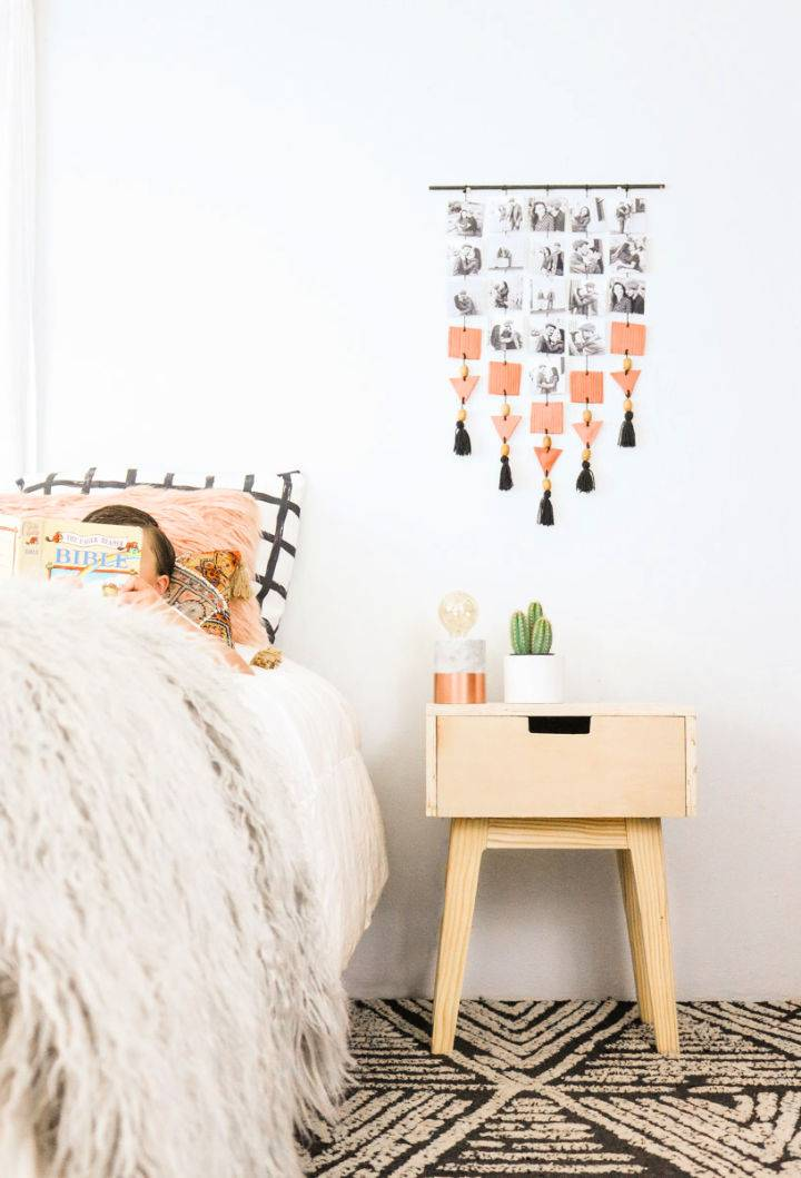 Wooden Nightstand to Build and Sell
