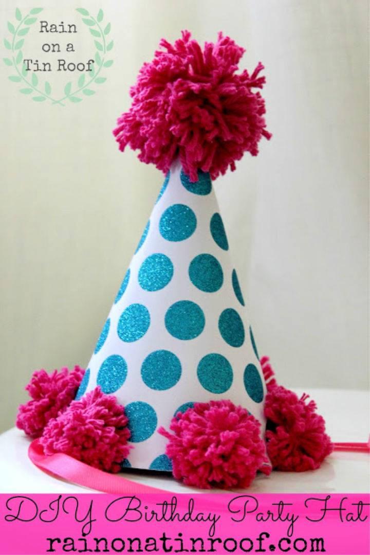 diy birthday hat