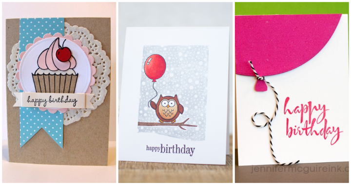 101 DIY Birthday Card Ideas