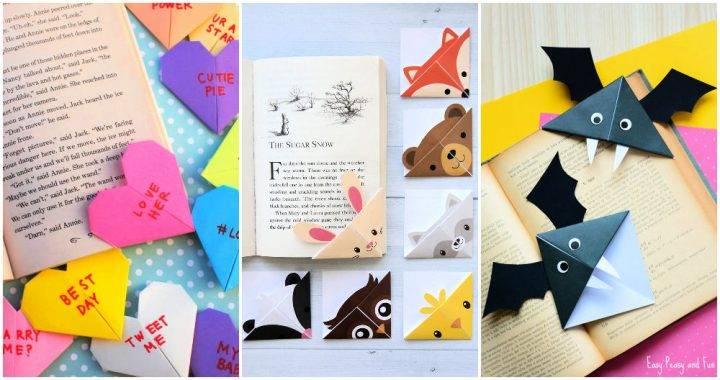 Cute Origami Bookmarks