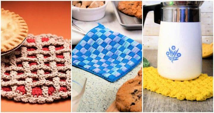 Free Crochet Hot Pads Patterns
